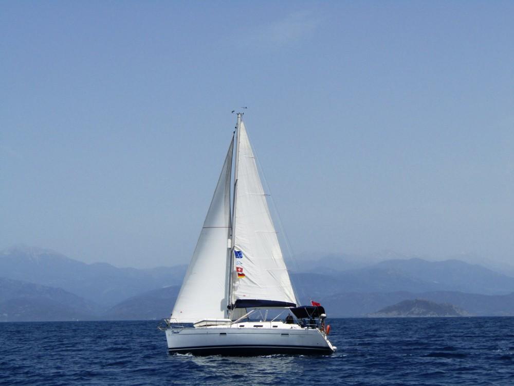 Boat rental Fethiye cheap Oceanis 343