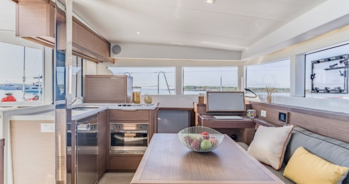 Boat rental Trogir cheap Lagoon 40