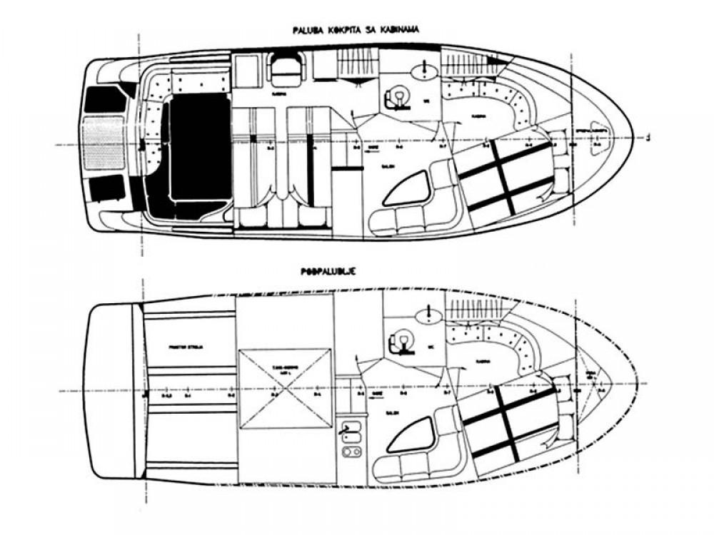 Boat rental  Mirakul 30 Sport in Grad Zadar on Samboat