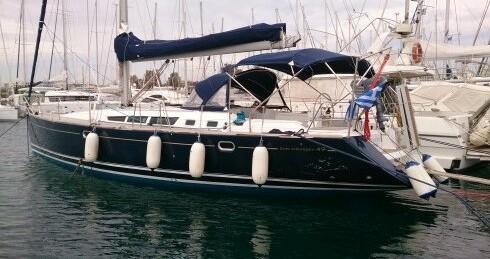 Jeanneau Sun Odyssey 49 between personal and professional Piraeus