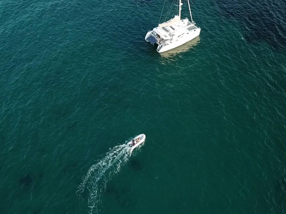 Boat rental Palma cheap Lagoon 450