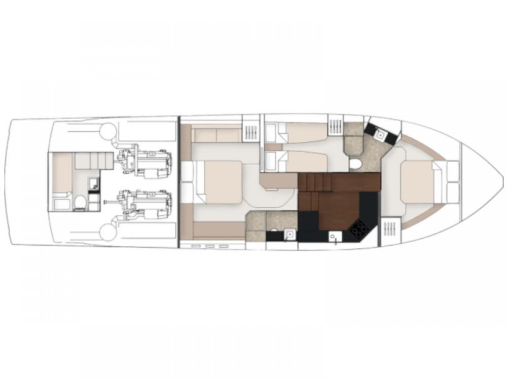 Boat rental Fairline Fairline Squadron 53 in Hjellestad Marina on Samboat