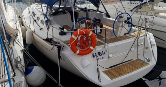 Hire Sailboat with or without skipper Dufour Split
