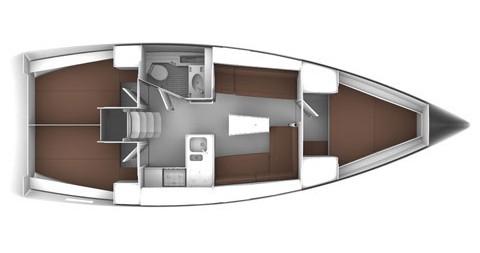 Rental Sailboat in Šibenik - Bavaria Bavaria 37 Cruiser