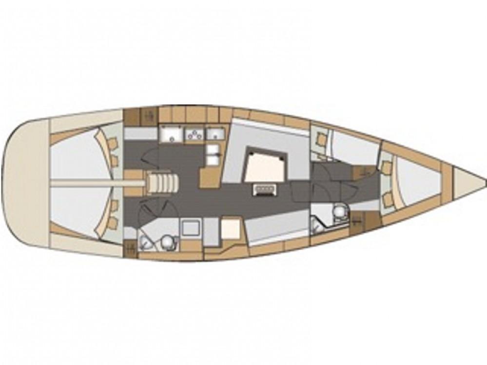 Rental yacht Hjellestad Marina - Elan Elan 45 Impression on SamBoat