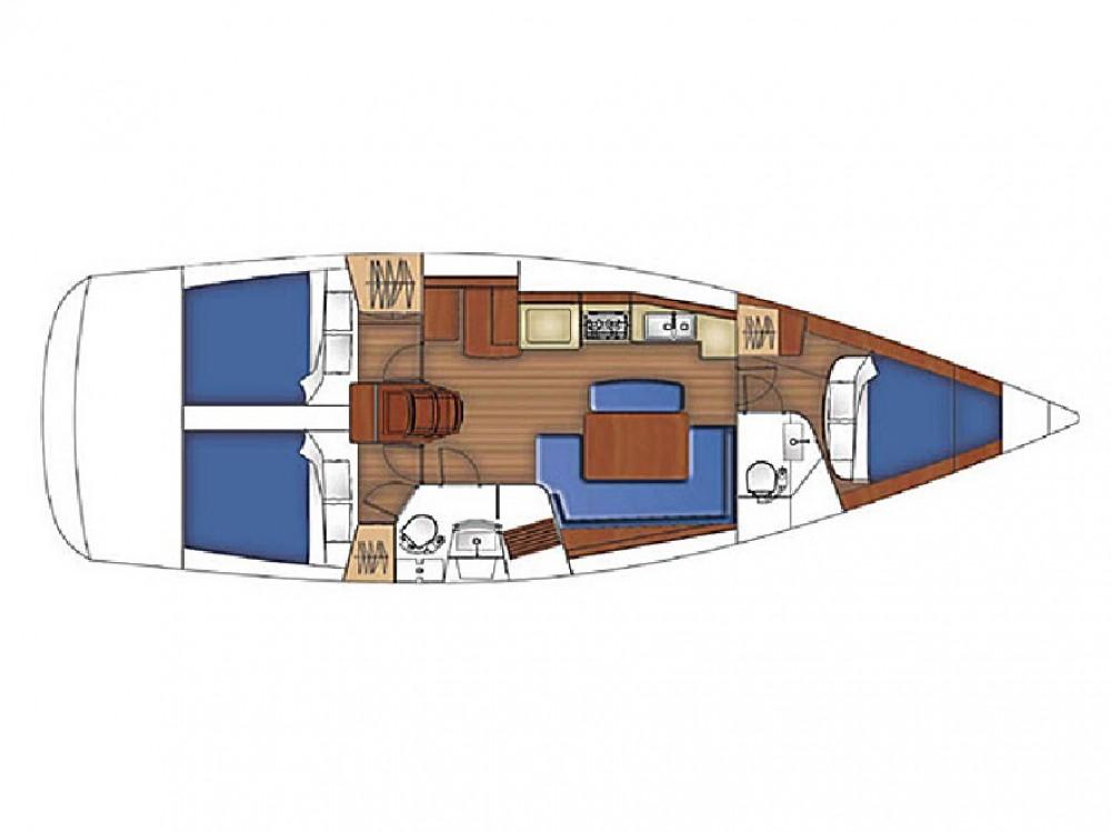 Boat rental Lefkáda cheap Oceanis 40