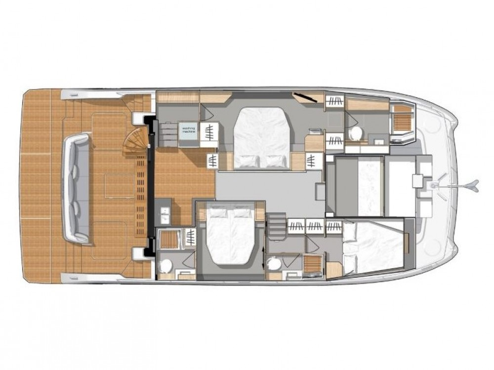 Rental Catamaran in  - Fountaine Pajot My 44