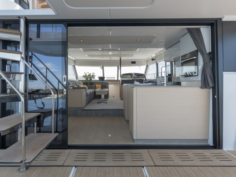 Fountaine Pajot My 44 between personal and professional