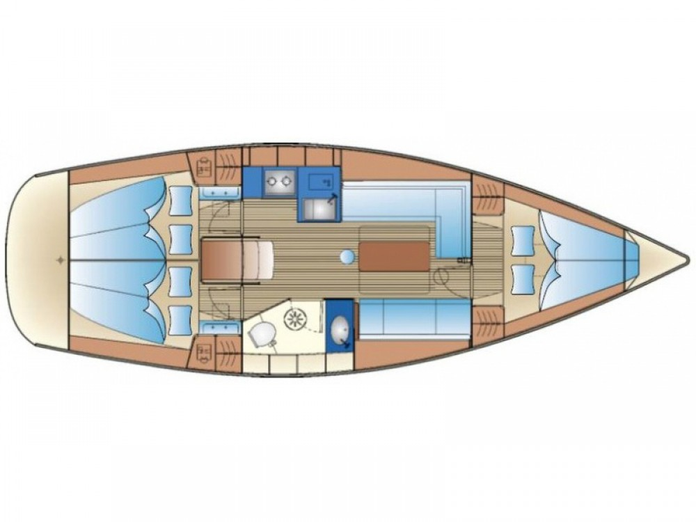 Boat rental Genoa cheap Bavaria 35 Cruiser