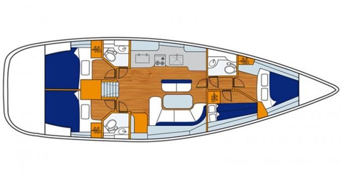 Boat rental Genoa cheap Oceanis 473