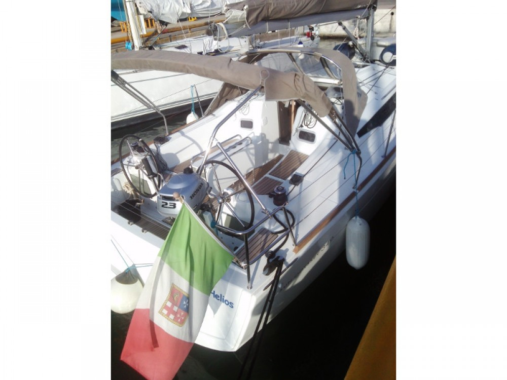 Jeanneau Sun Odyssey 349 between personal and professional Trapani