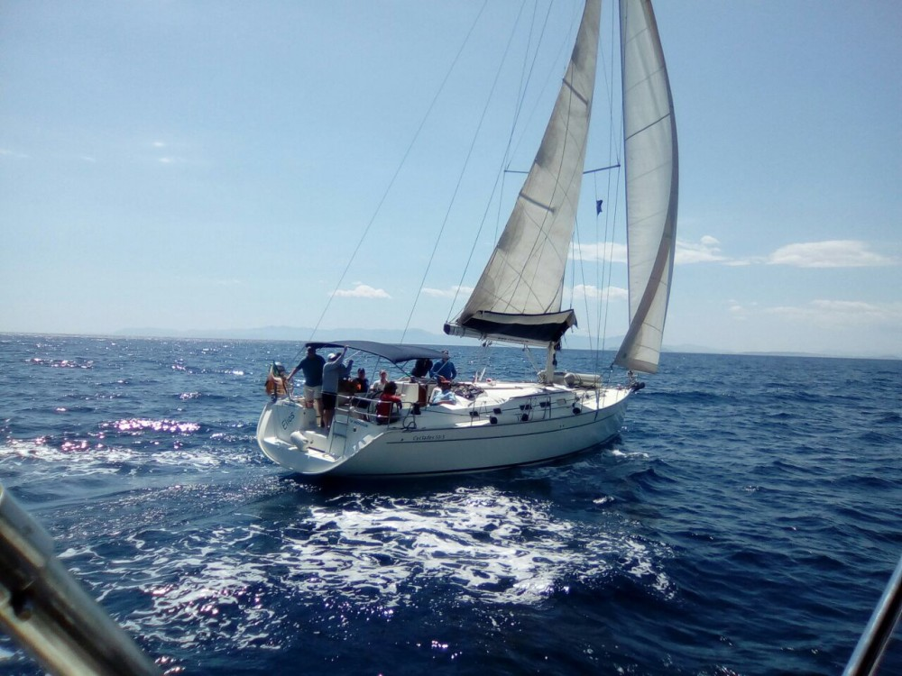 Boat rental Cagliari cheap Cyclades 50.5