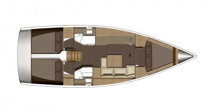 Boat rental Cagliari cheap Dufour 382 GL