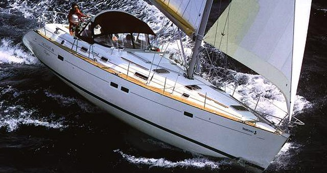 Bénéteau Oceanis 411 between personal and professional Cagliari