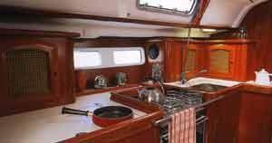 Boat rental Cagliari cheap Oceanis 411