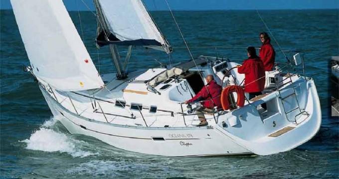 Boat rental Cagliari cheap Oceanis 373
