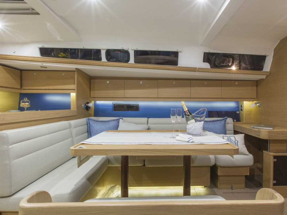 Dufour Dufour 460 Grand Large between personal and professional Cagliari - Casteddu