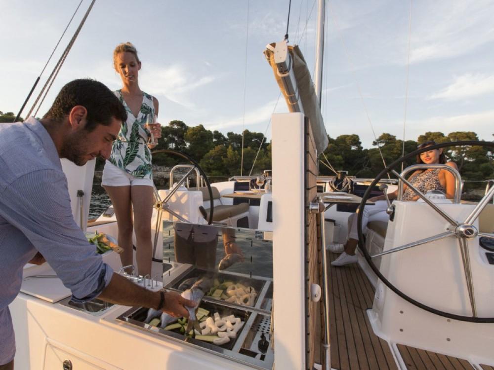Rental Sailboat in Cagliari - Casteddu - Dufour Dufour 460 Grand Large