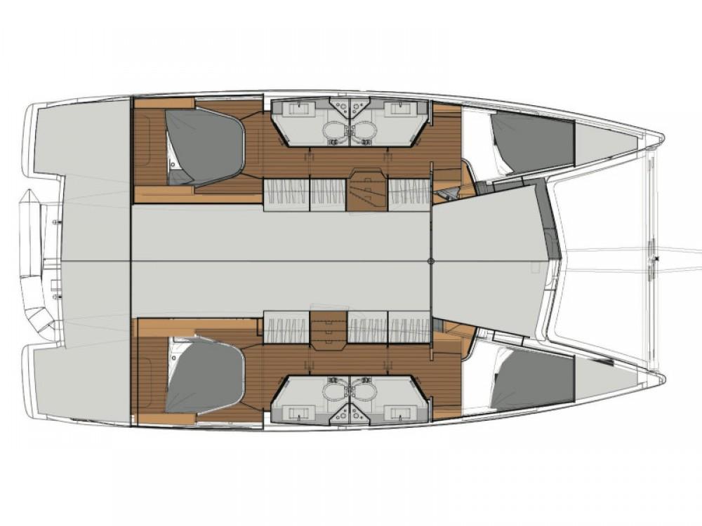 Catamaran for rent Palamós at the best price