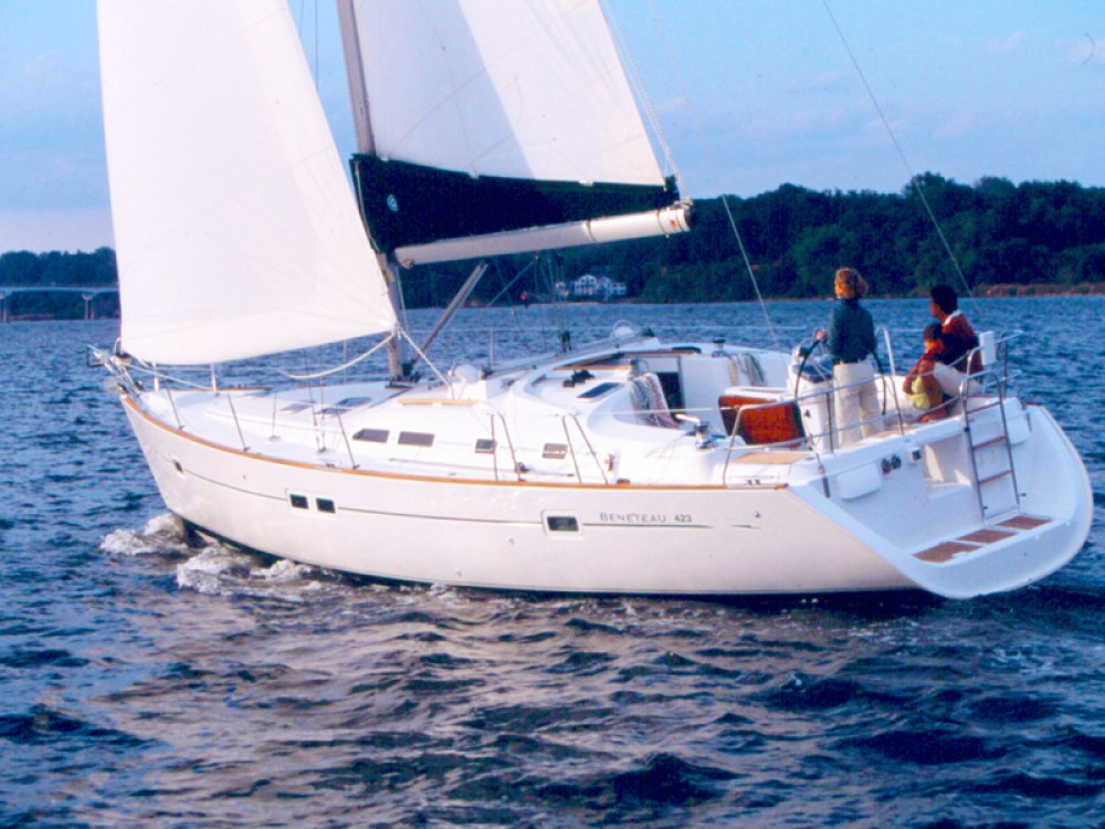 Bénéteau Oceanis Clipper 423 between personal and professional Nettuno