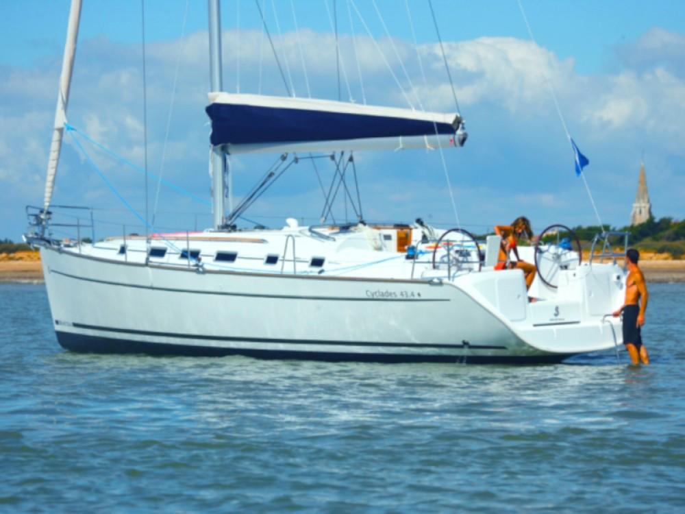 Boat rental Nettuno cheap Cyclades 434