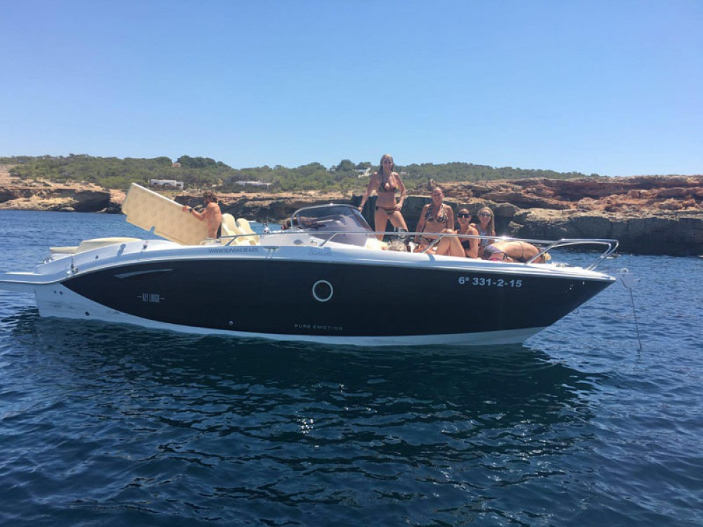 Boat rental Sant Antoni de Portmany cheap Key Largo 27