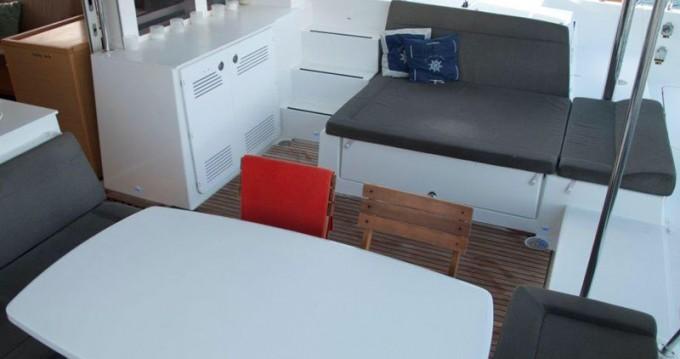 Boat rental Sant Antoni de Portmany cheap Lagoon 450 F