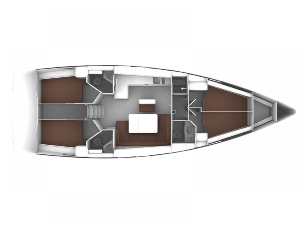 Boat rental Sochi cheap Bavaria Cruiser 46