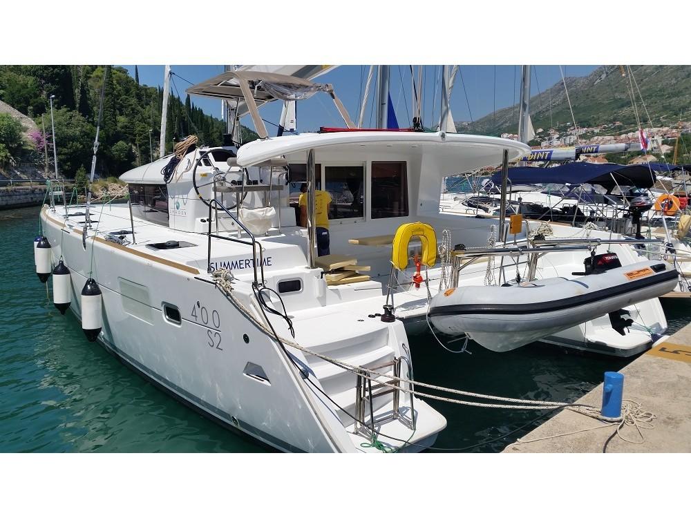 Hire Catamaran with or without skipper Lagoon ACI Marina Dubrovnik