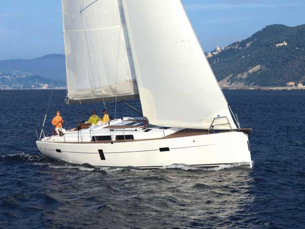 Boat rental Hanse Hanse 445 in ACI Marina Dubrovnik on Samboat