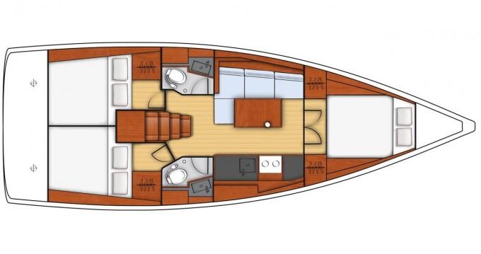 Boat rental Bénéteau Oceanis 38.1 in Dubrovnik on Samboat