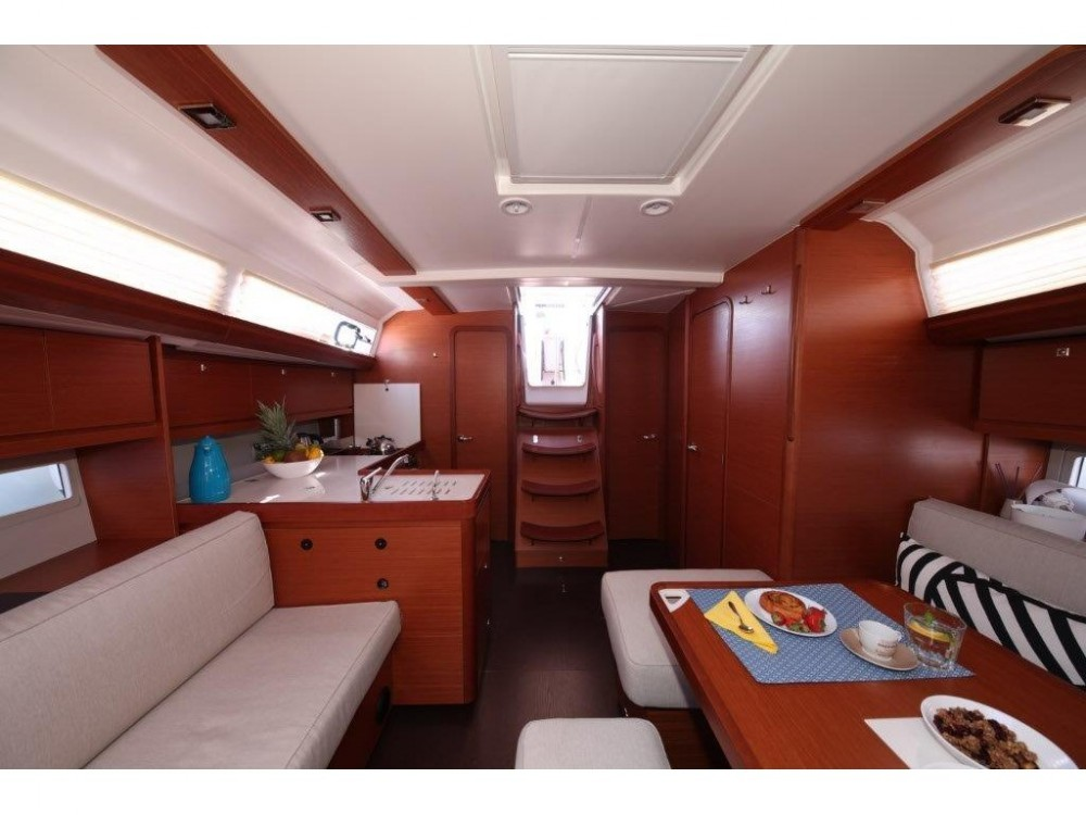Dufour Dufour 412 Grand Large between personal and professional ACI Marina Trogir