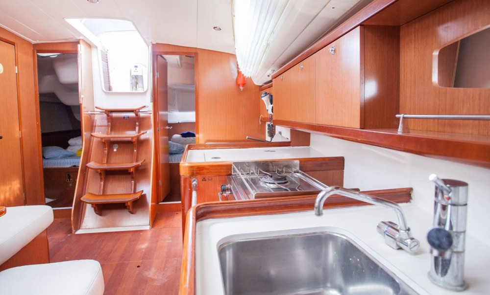Boat rental ACI Marina Trogir cheap Oceanis 40