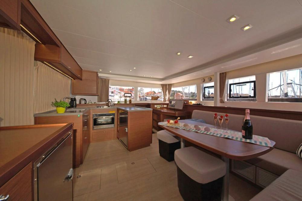 Catamaran for rent ACI Marina Trogir at the best price