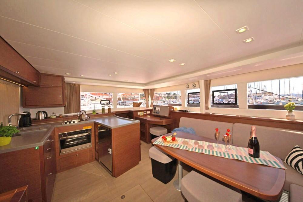 Boat rental ACI Marina Trogir cheap Lagoon 450 FLY