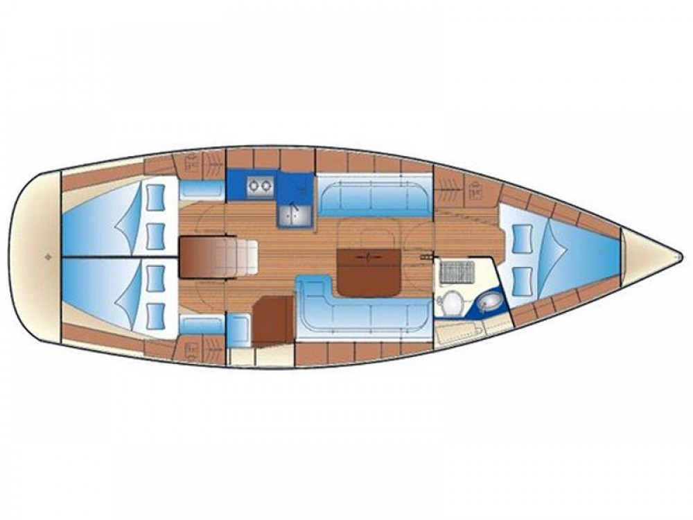 Rental Sailboat in  - Bavaria Bavaria 37 Cruiser