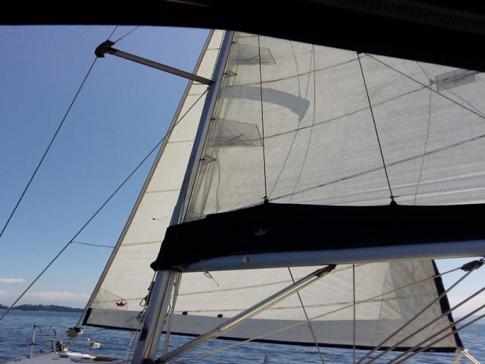 Boat rental Angra dos Reis cheap Oceanis 40