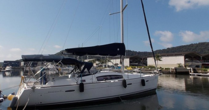 Bénéteau Oceanis 40 between personal and professional Paraty