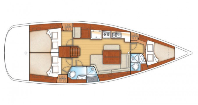 Sailboat for rent Paraty at the best price