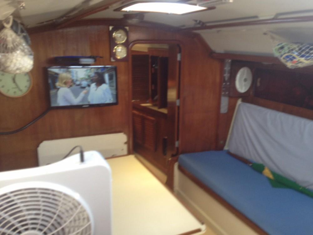 Boat rental Angra dos Reis cheap Velamar 38