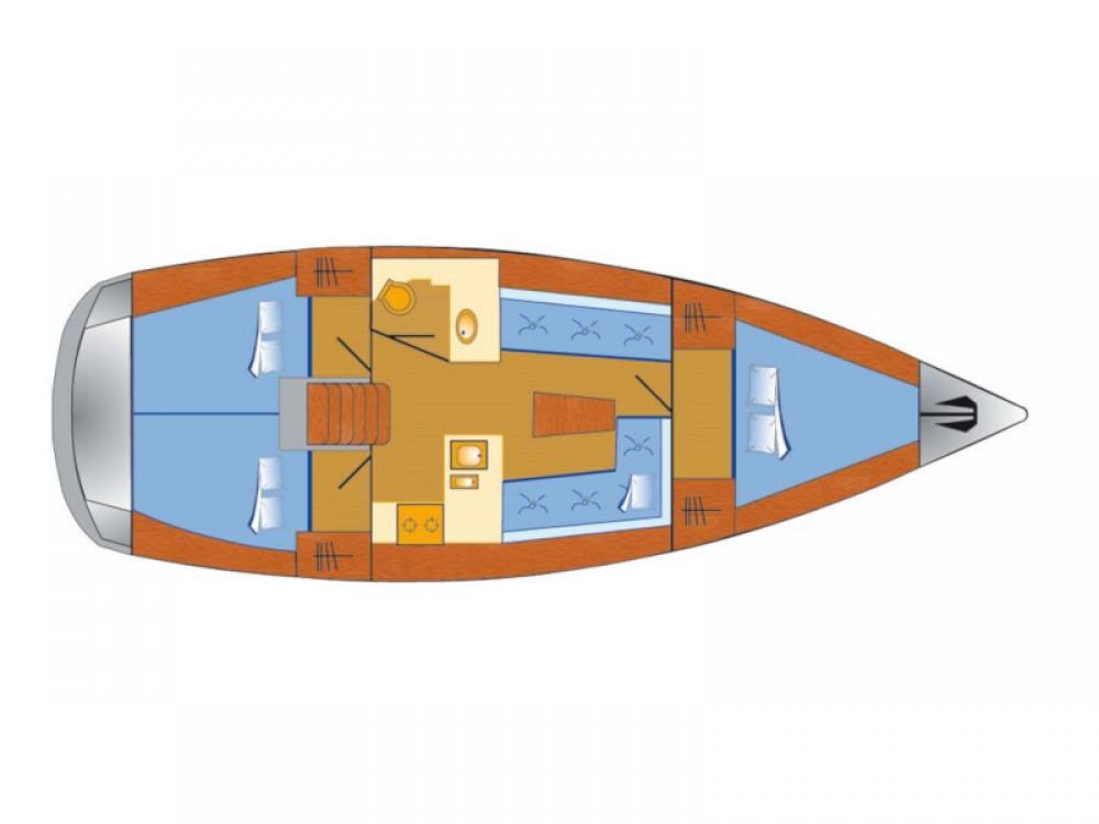 Boat rental Bavaria Bavaria Cruiser 37 in Rogoznica on Samboat