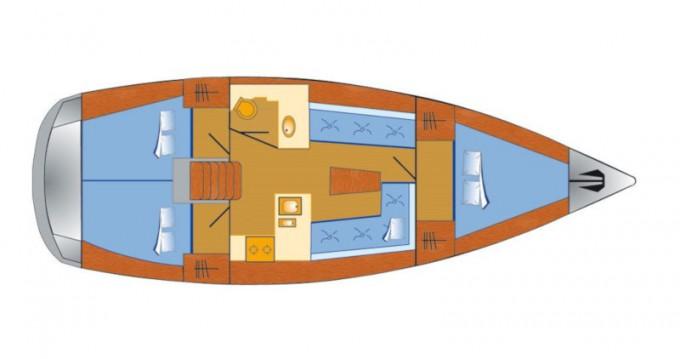 Boat rental Bavaria Cruiser 37 in Rogoznica on Samboat