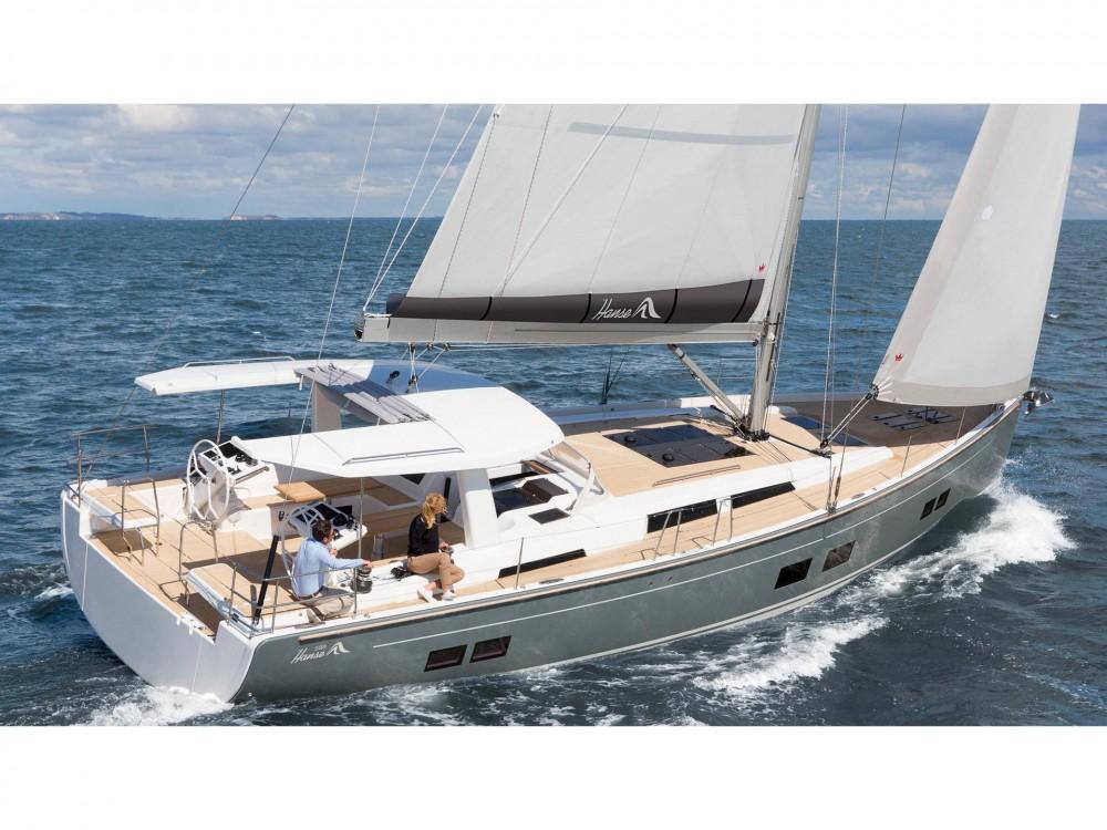 Rental Sailboat in Krk - Hanse Hanse 588