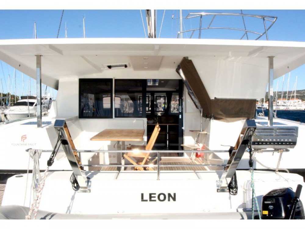 Fountaine Pajot Lucia 40 between personal and professional Rogoznica