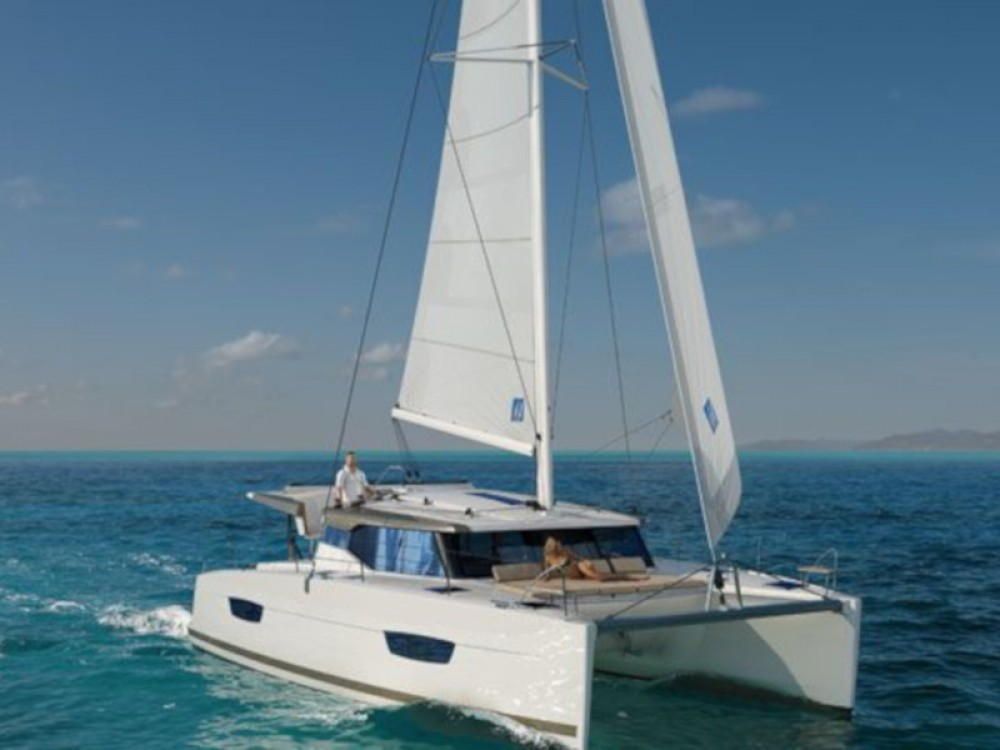 Boat rental Fountaine Pajot Lucia 40 - 3 cab in Pula on Samboat