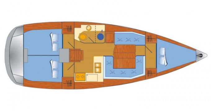 Boat rental Jeanneau Sun Odyssey 389 in Veruda on Samboat