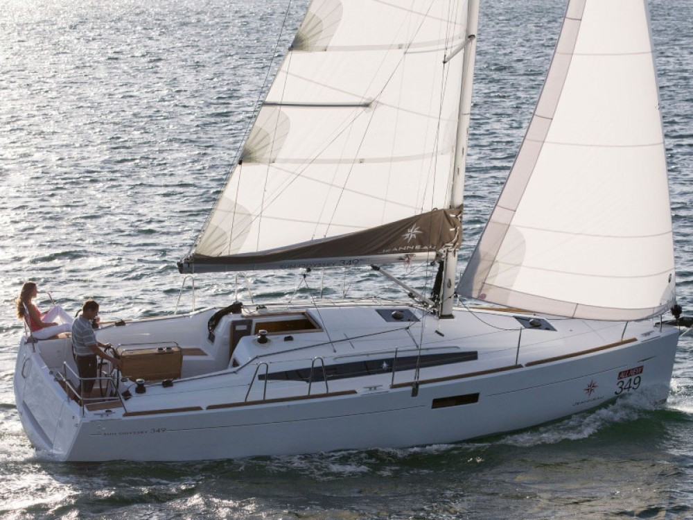 Boat rental Jeanneau Sun Odyssey 349 in Krk on Samboat