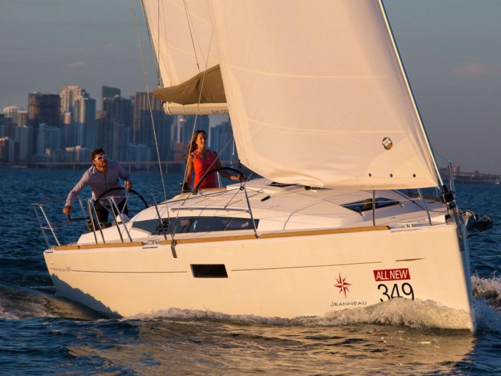 Boat rental Krk cheap Sun Odyssey 349