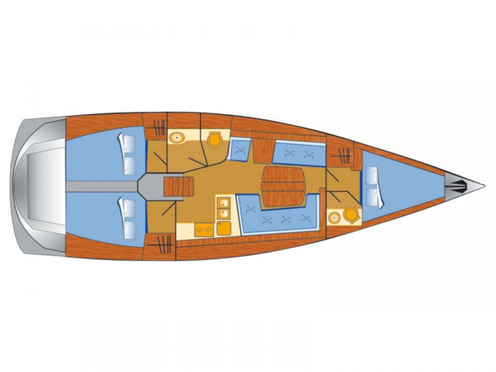Hire Sailboat with or without skipper Dehler Rogoznica