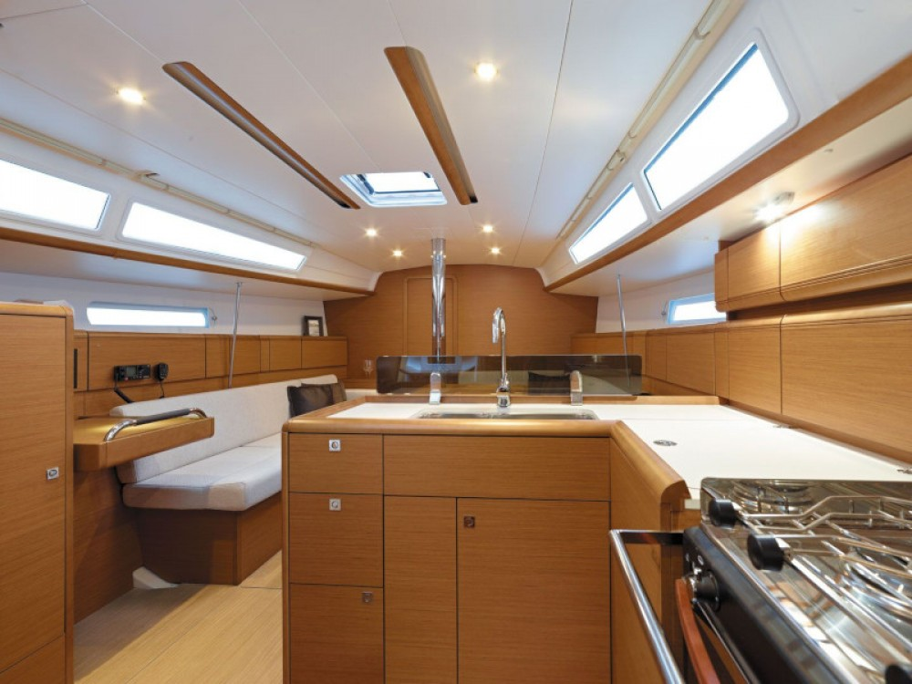 Jeanneau Sun Odyssey 389 between personal and professional Rogoznica